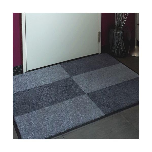 tapis d 39 entr e personnalis avec un logo. Black Bedroom Furniture Sets. Home Design Ideas